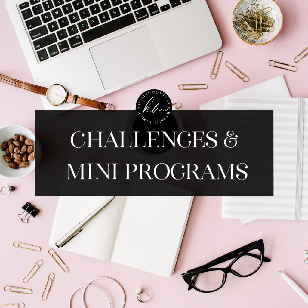 CHALLENGES AND MINI PROGRAMS