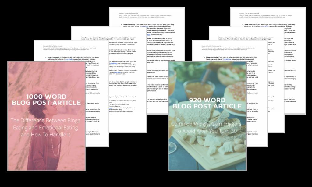 Blog Post Pack: Holidays #04 (Holiday Season Health)
