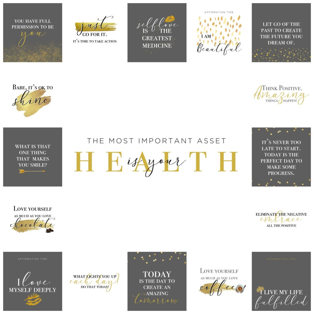 Gold foil motivation Images #1