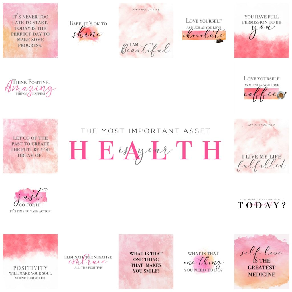 Pink Watercolor Motivation Images 1