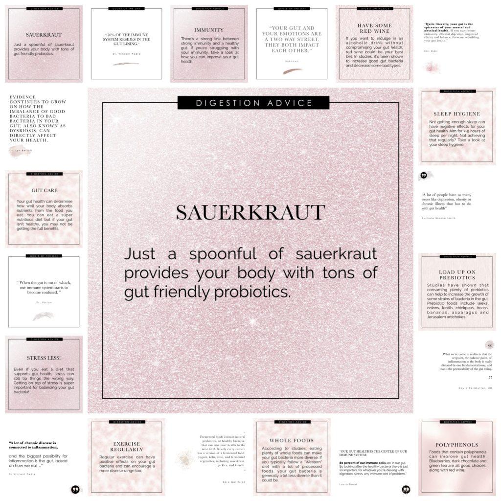 Gut Health Pack 03 - pink sparkle