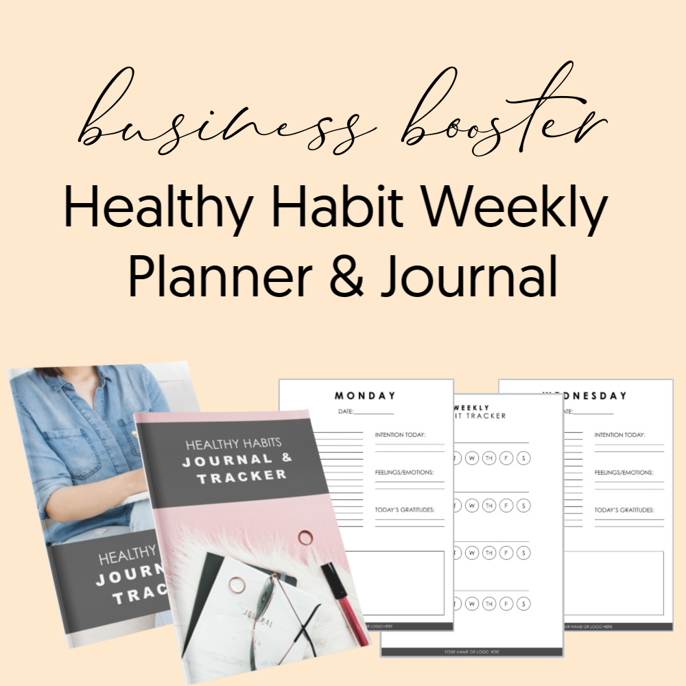 Business Booster - healthy habit weekly