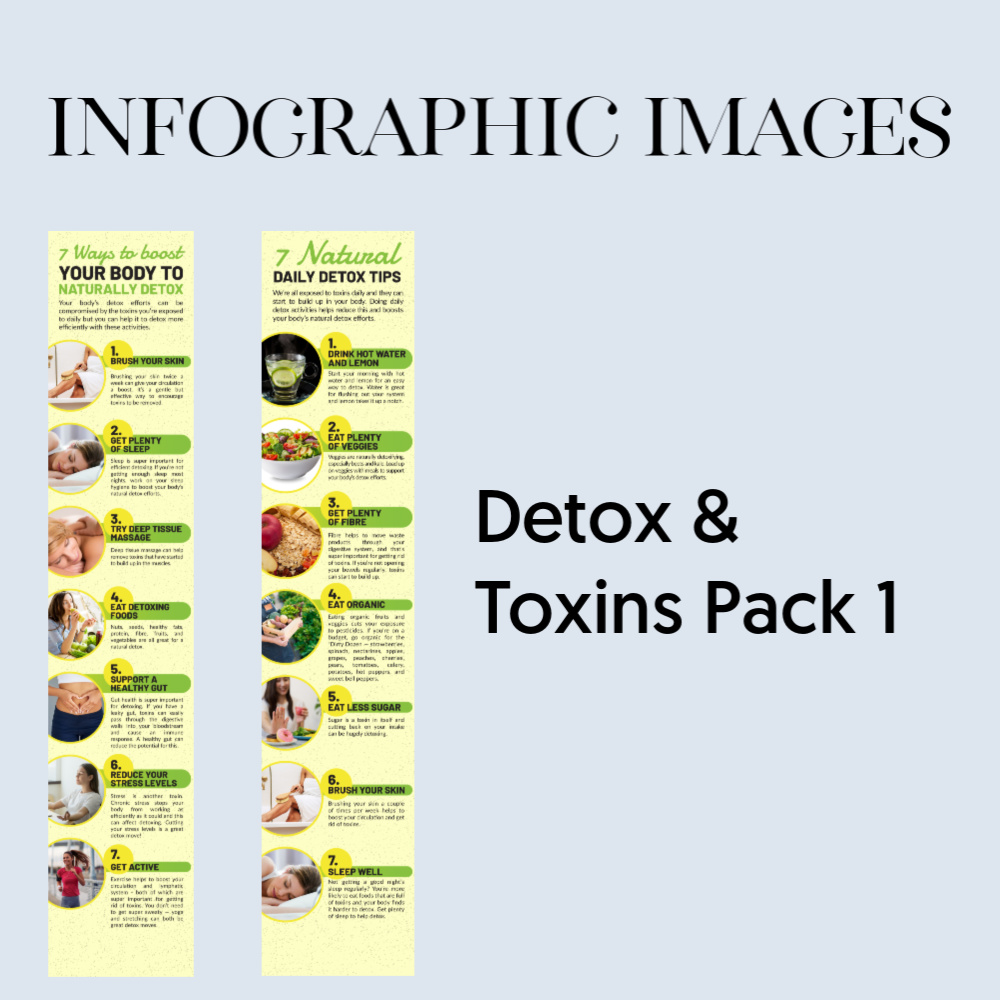 Infographic - detox toxins pack 1