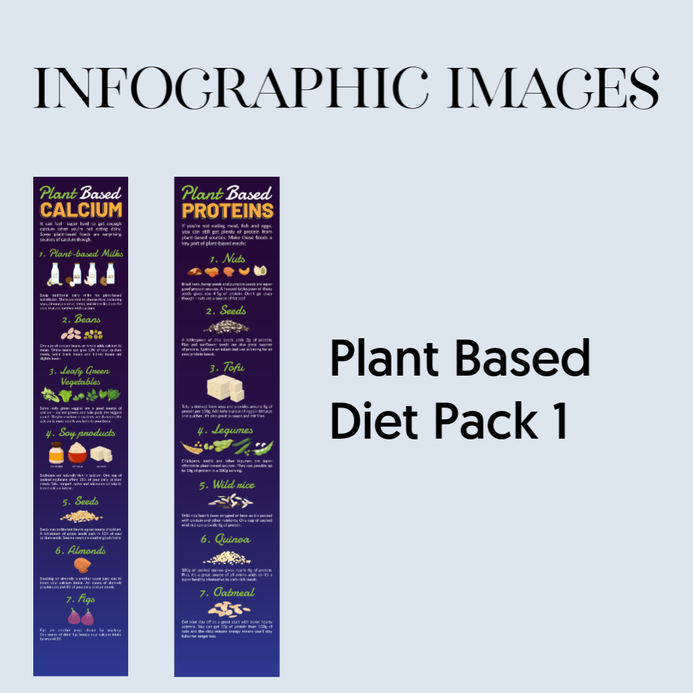Infographic - plant based pack 1