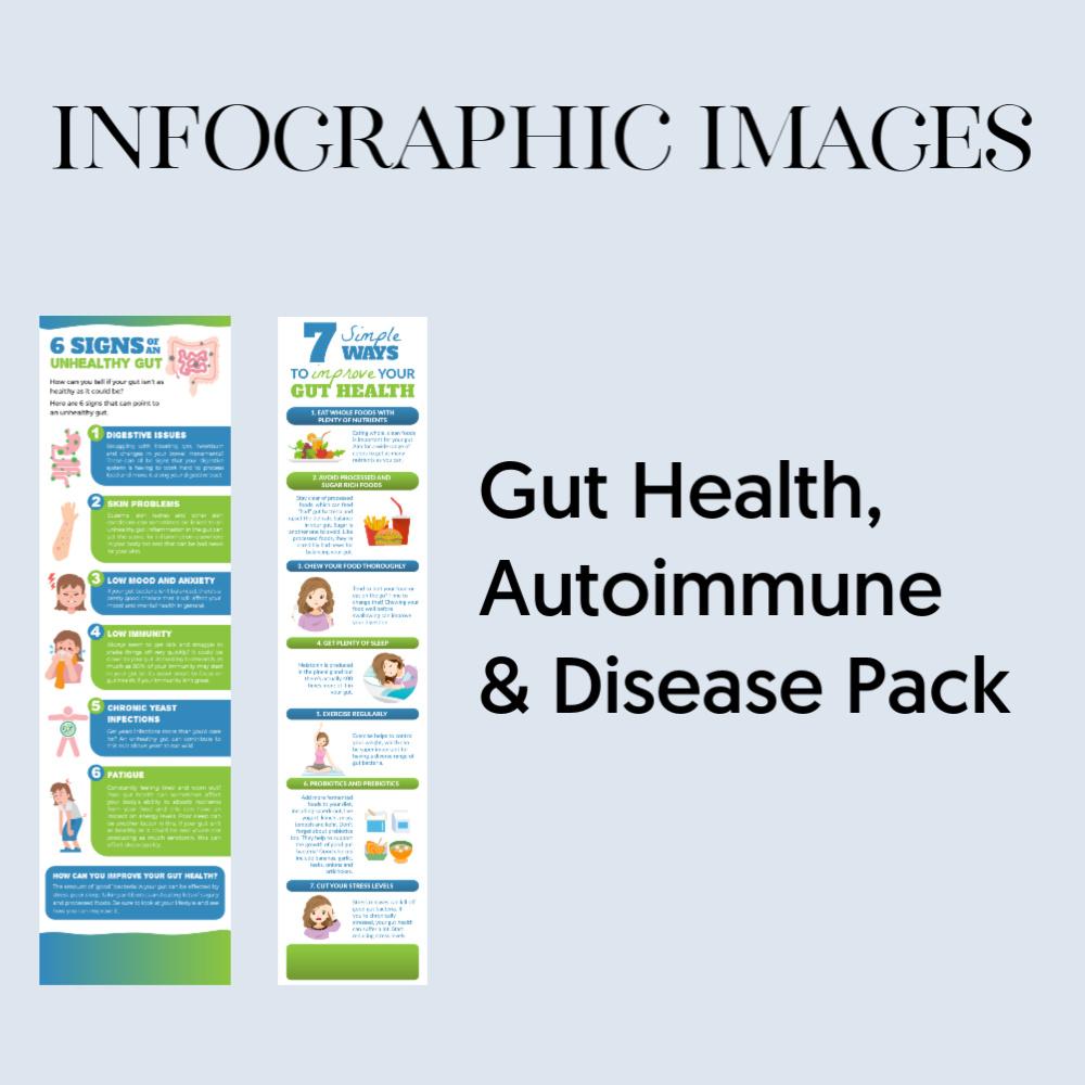 Infographic gut health