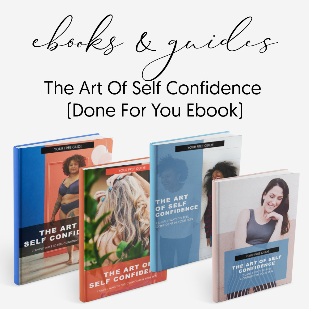The Art of self confidence done for you ebook
