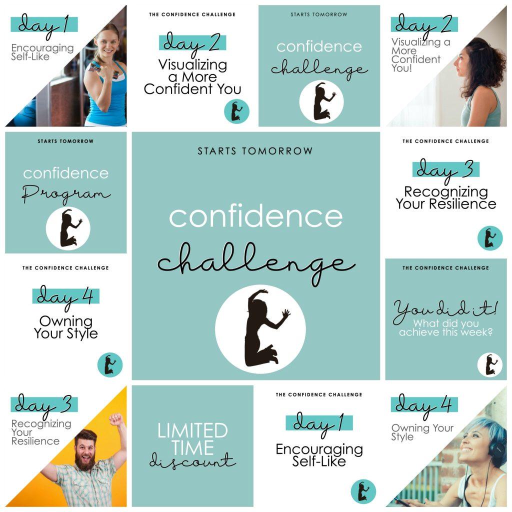 confidence challenge promo 1