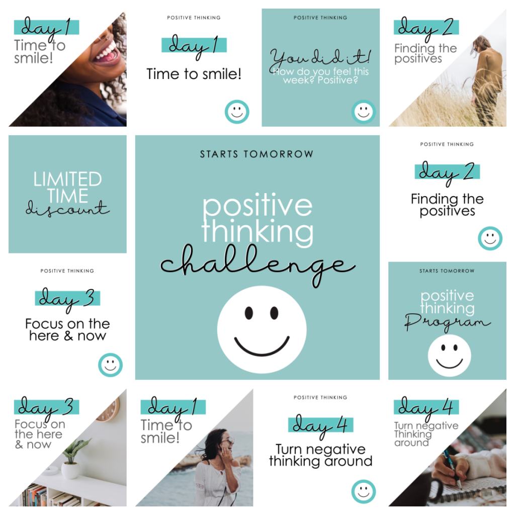 positive thinking challenge 1
