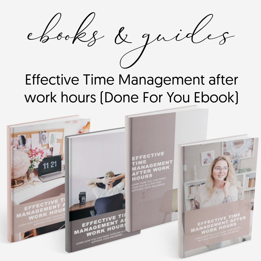 Time management - Ebooks guides